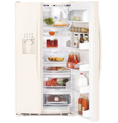 GE Profile™ 26.5 Cu. Ft. Side-by-Side Refrigerator with Dispenser
