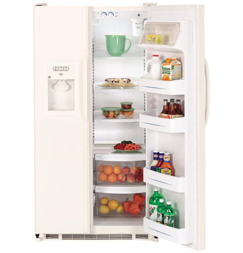 GE® 25.0 Cu. Ft. Capacity Side-By-Side Refrigerator with Dispenser