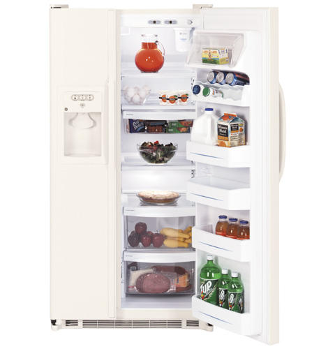 GE® 21.9 Cu. Ft. Capacity Side-By-Side Refrigerator