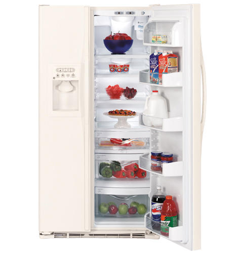 GE ENERGY STAR® 25.4 Cu. Ft. Side-by-Side Refrigerator