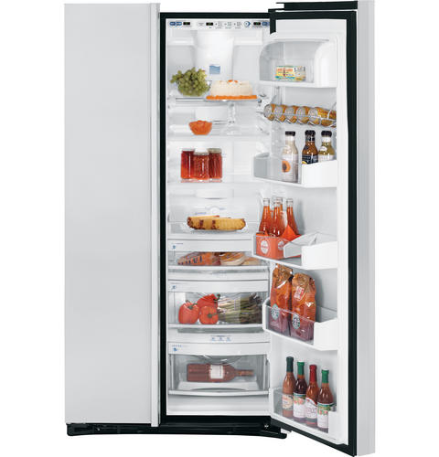 GE Profile Counter-Depth 22.6 Cu. Ft. Stainless Side-By-Side Refrigerator