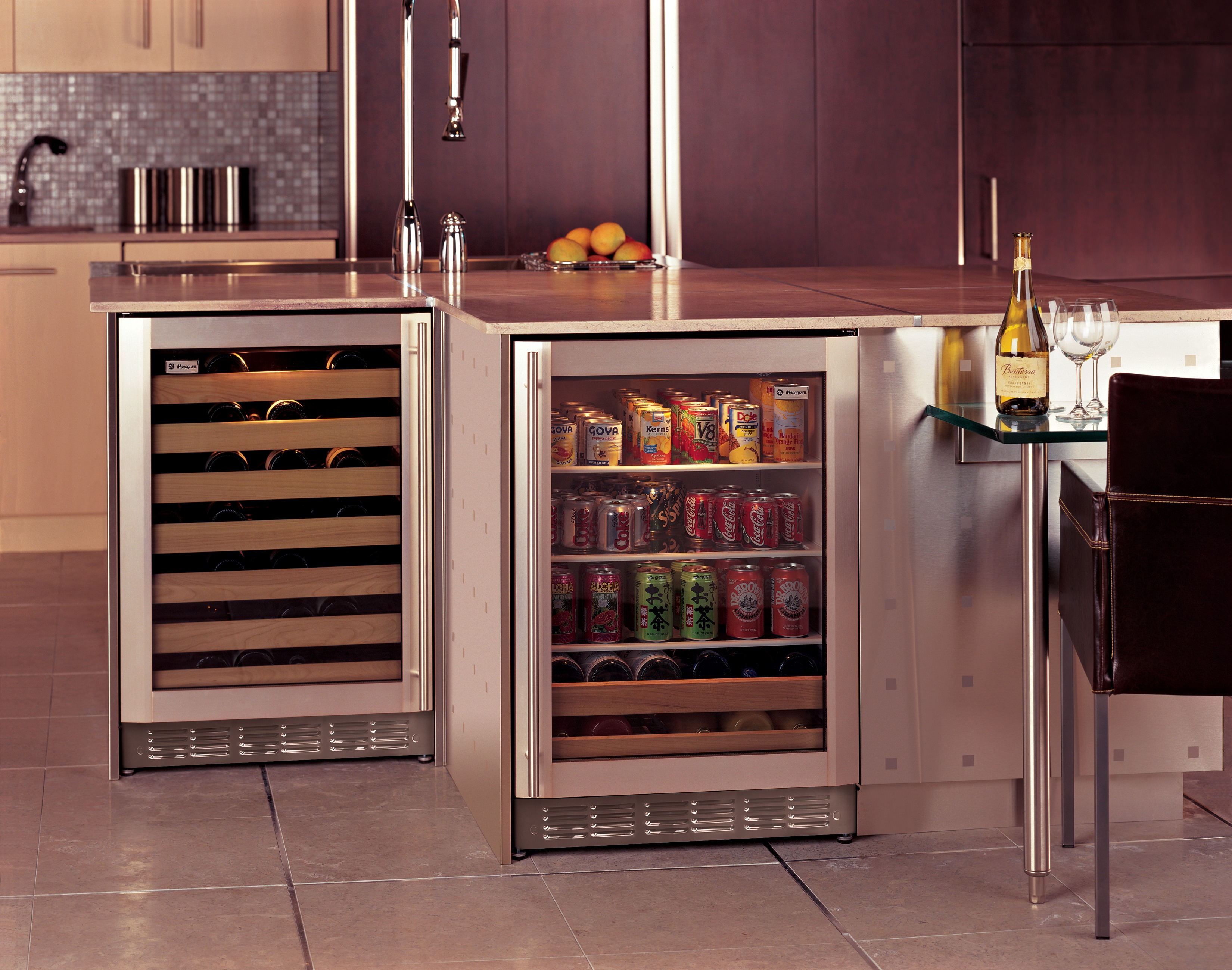 Zdwc240nbs Ge Monogram 174 Stainless Steel Wine Chiller