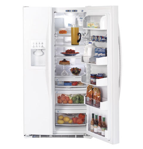 GE Profile CustomStyle™ 22.7 Cu. Ft. Side-by-Side Refrigerator