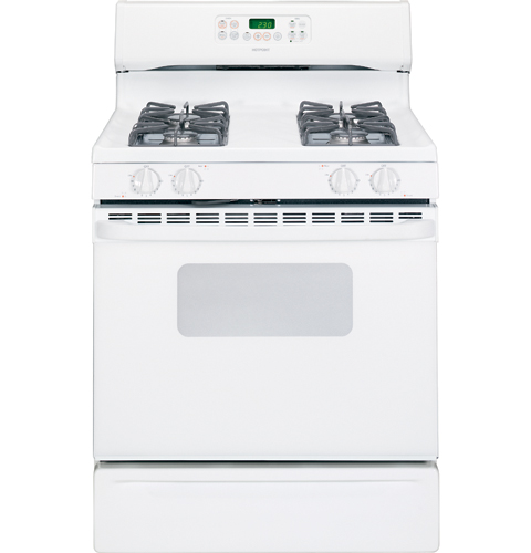Hotpoint 174 30 Quot Free Standing Gas Range Rgb745wehww Ge