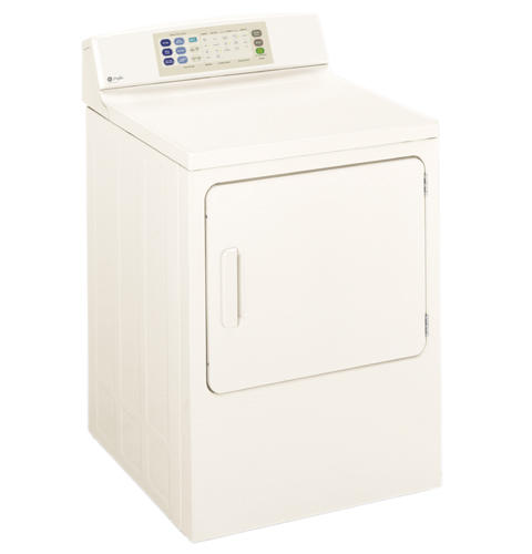 GE Profile™ 7.0 Cu. Ft. Super Capacity Gas Dryer with Stainless Steel Drum
