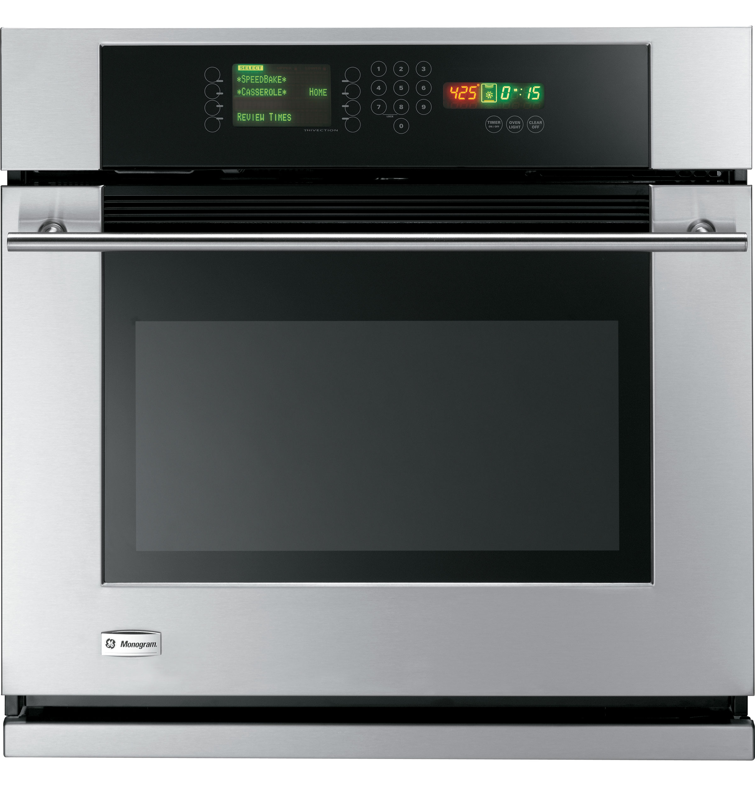 Ge Monogram 174 30 Quot Built In Single Wall Oven With Trivection