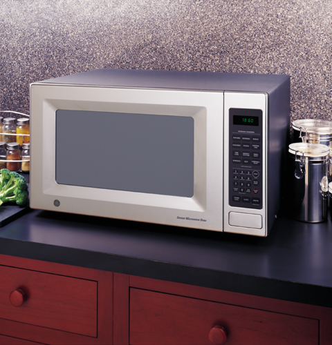 Ge Countertop Stove Top : JE1860SH - GE? Countertop Microwave Oven - The Monogram Collection