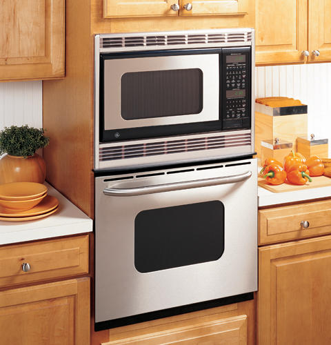 Ge 174 27 Quot Built In Double Microwave Thermal Wall Oven