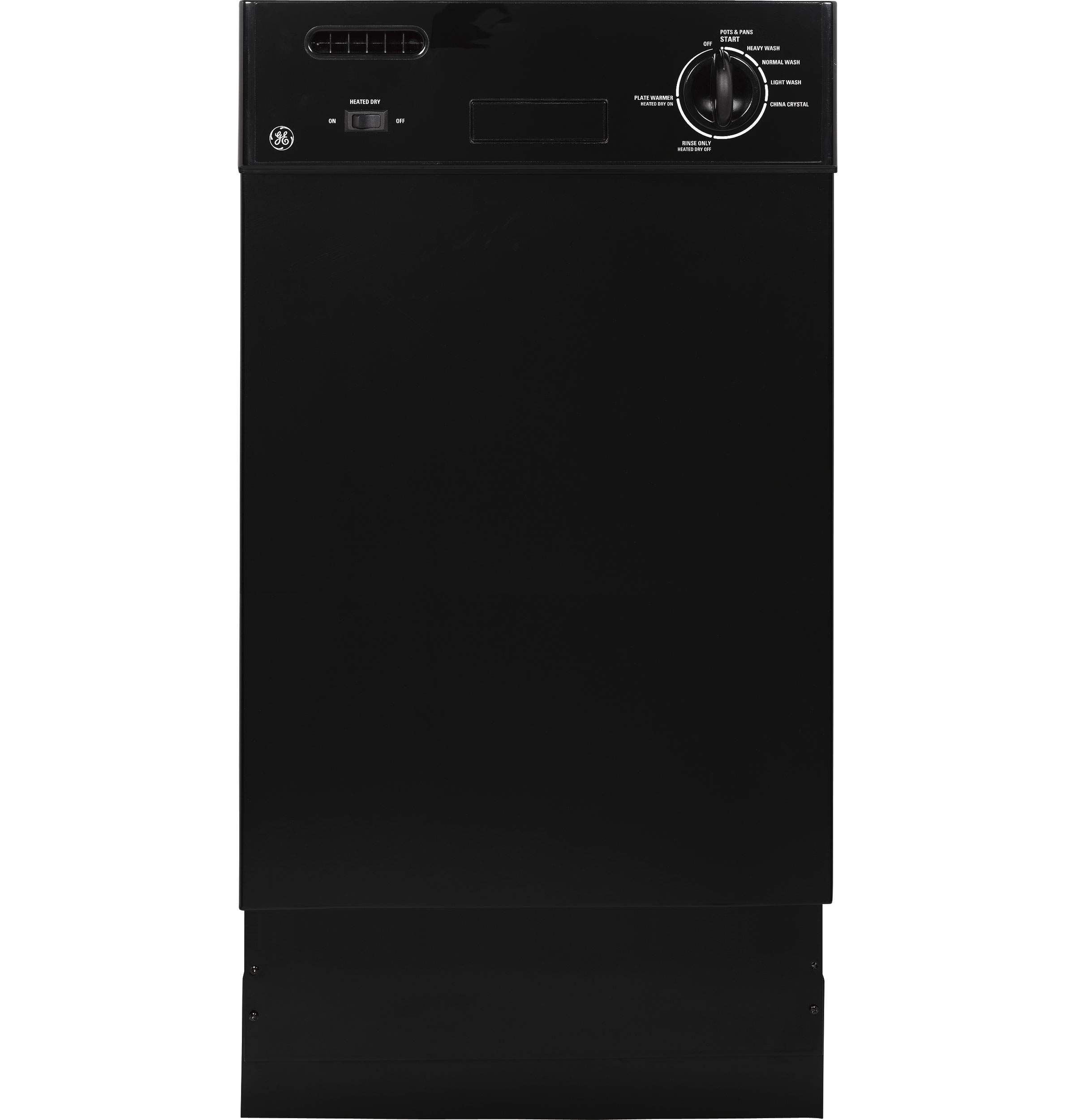 Ge Spacemaker 174 18 Quot Built In Dishwasher Gsm1800nbb Ge