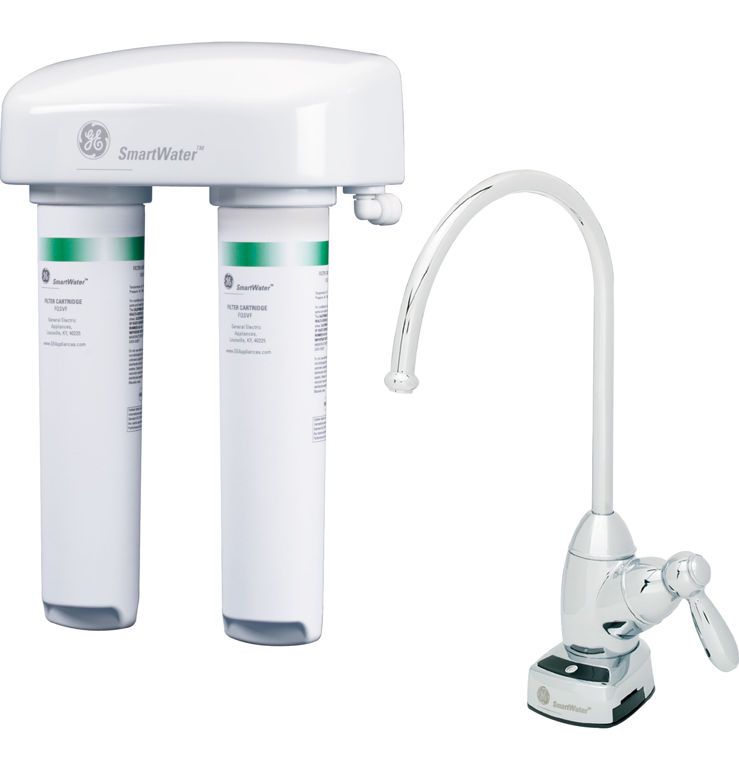 Ge 174 Dual Stage Drinking Water Filter Gnsv70fbl Ge