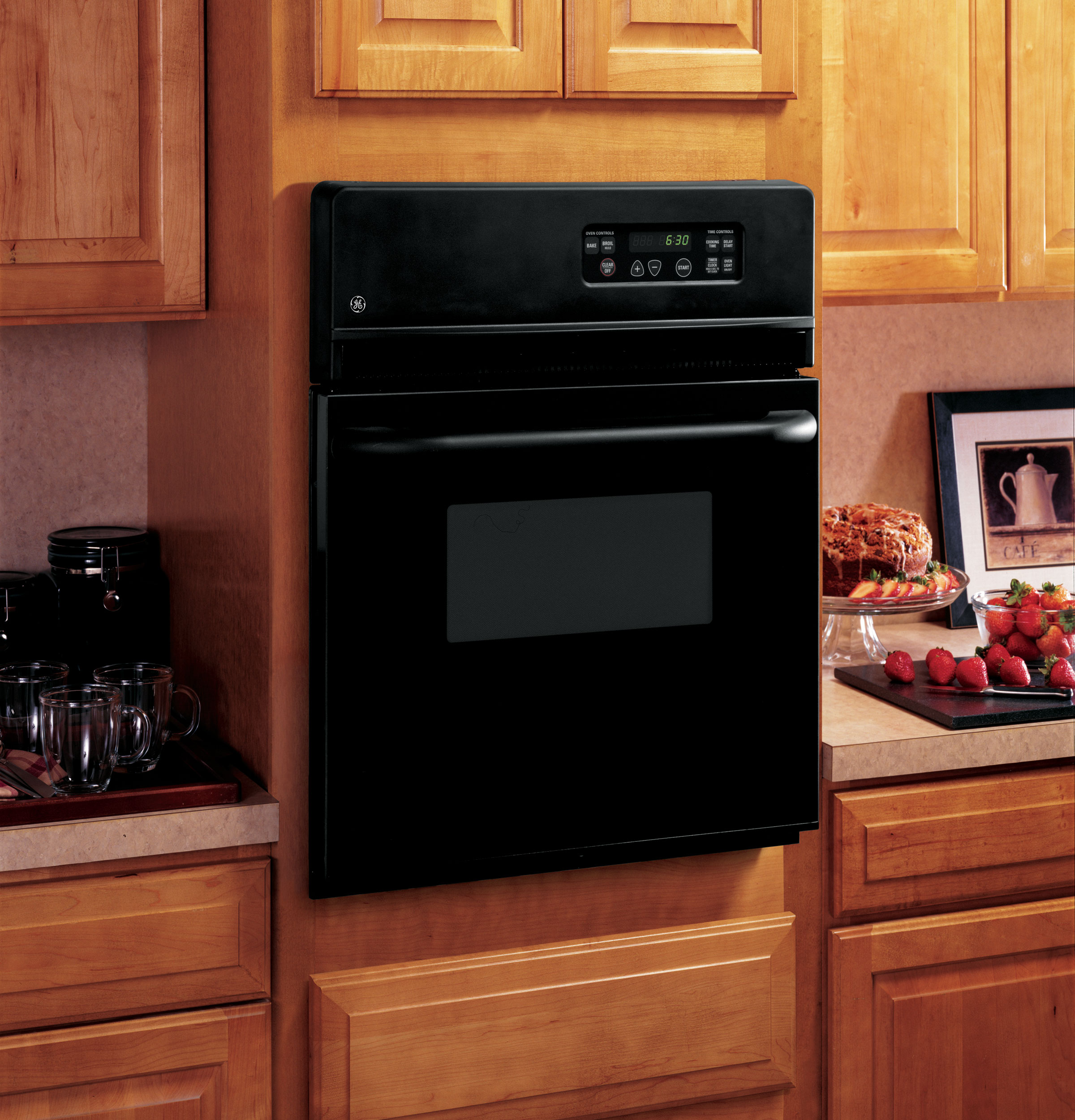 Electric Wall Oven 24 Inch Gear 24 Electric Single Standard Clean Wall Oven Jrs06bjbb Ge
