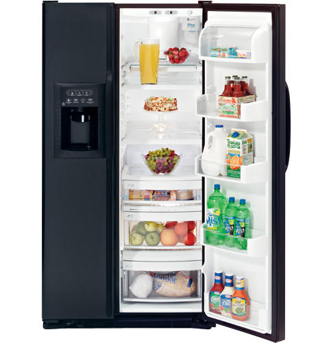 GE CustomStyle™ 22.6 Cu. Ft. Side-By-Side Refrigerator