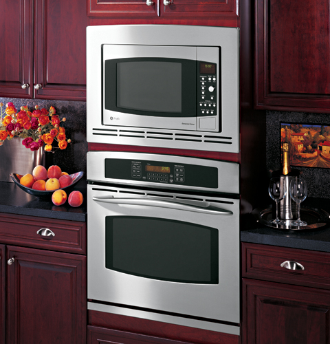 Countertop Convection Microwave With Trim Kit : JE1590CH - GE Profile? Countertop Convection/Microwave Oven - The ...
