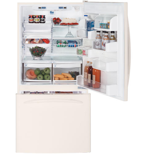 GE Profile™ ENERGY STAR® 22.2 Cu. Ft. Bottom-Freezer Drawer Refrigerator