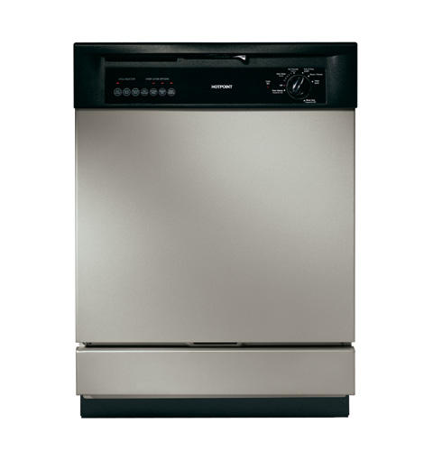 Hotpoint 174 Built In Dishwasher Hda3740gsa Ge Appliances