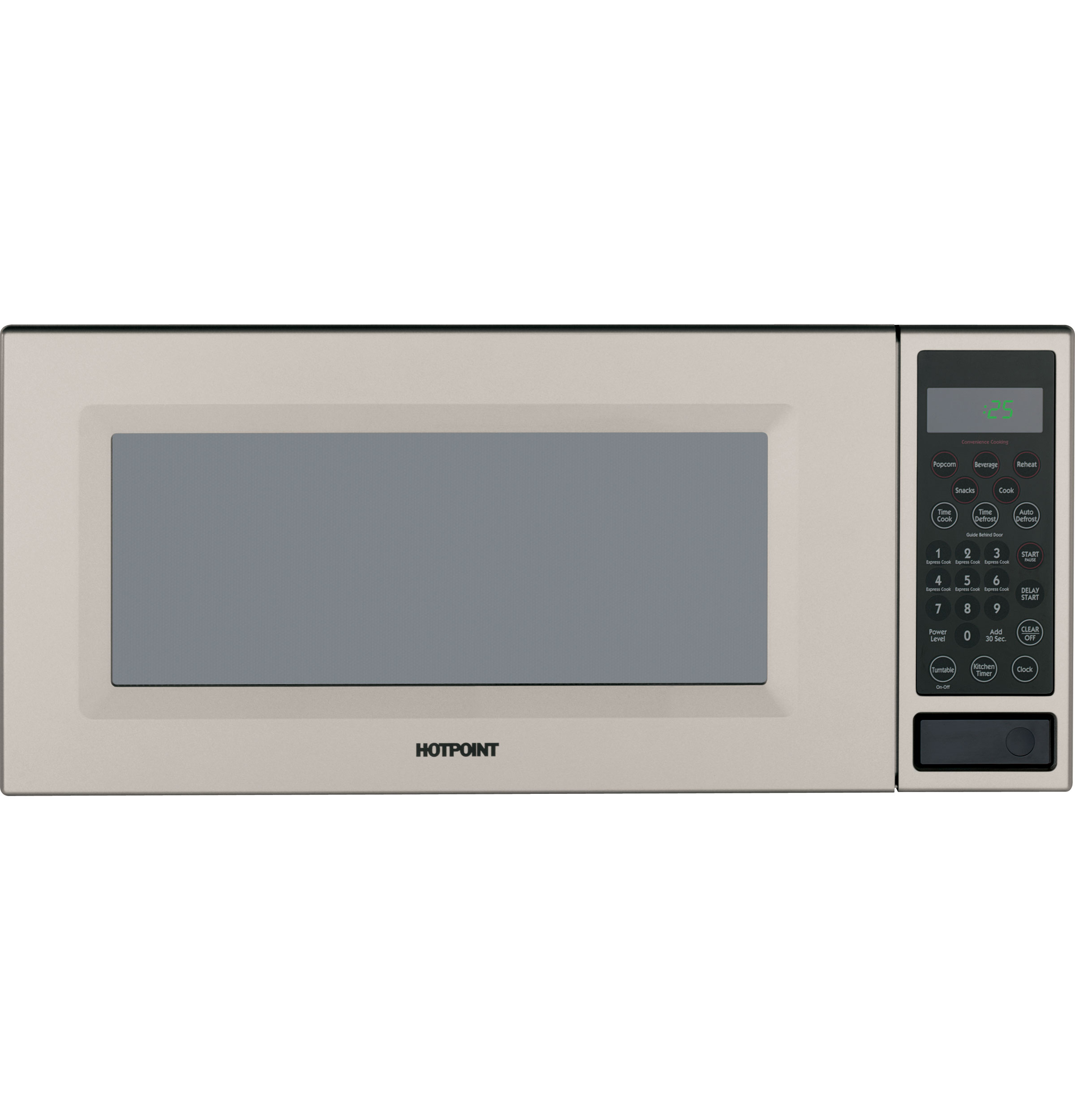 Hotpoint Rem25sj Countertop Microwave Oven
