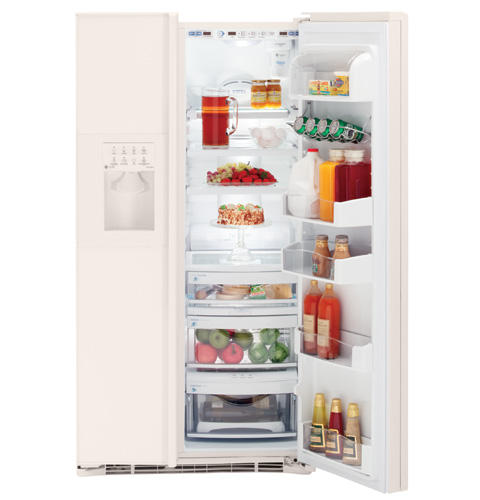 GE Profile CustomStyle™ ENERGY STAR® 22.6 Cu. Ft. Side-By-Side Refrigerator
