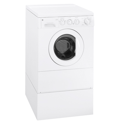 GE® Extra-Large Frontload Washer with Stainless Steel Basket ... on
