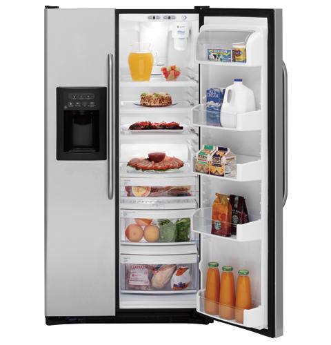 GE 25.4 Cu. Ft. Stainless Side-by-Side Refrigerator