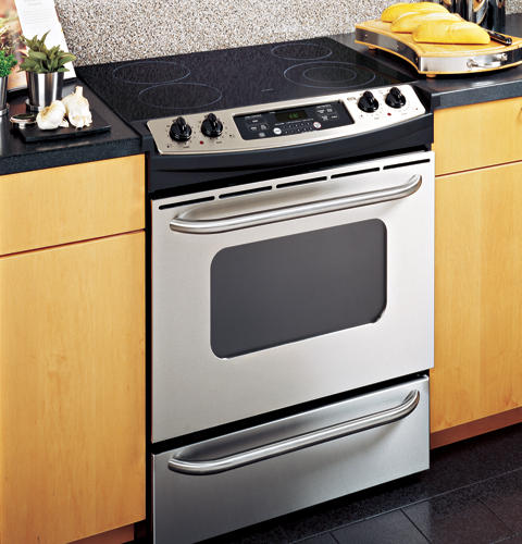 Ge 30 Slide In Electric Range With Self Cleaning Oven