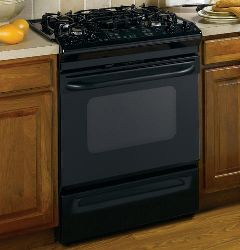 Ge 30 Slide In Gas Range With Self Cleaning Oven Jgsp28bekbb Liances