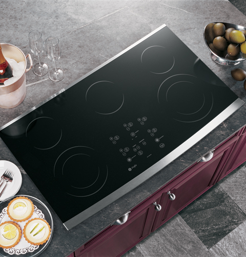 Ge Profile 36 Quot Built In Cleandesign Cooktop Jp980skss