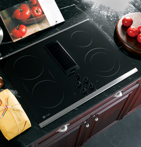 Ge Profile 30 Quot Downdraft Electric Cooktop Jp989skss