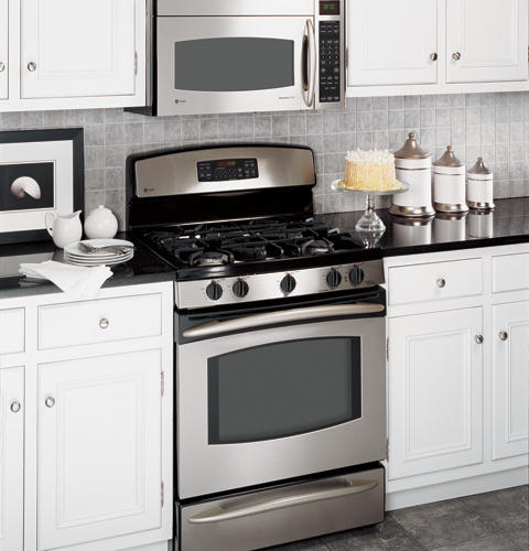 Ge Profile 30 Quot Free Standing Self Clean Gas Range With