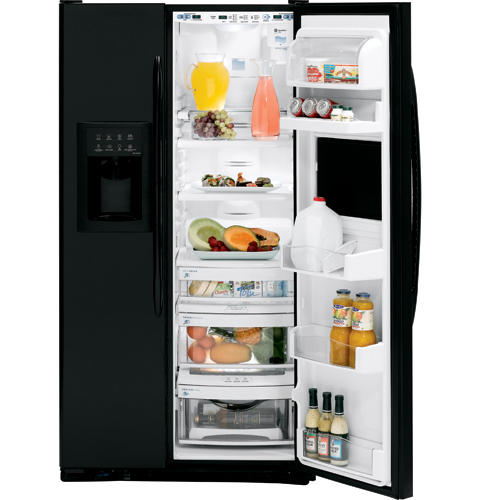 GE Profile CustomStyle™ 22.6 Cu. Ft. Side-By-Side Refrigerator