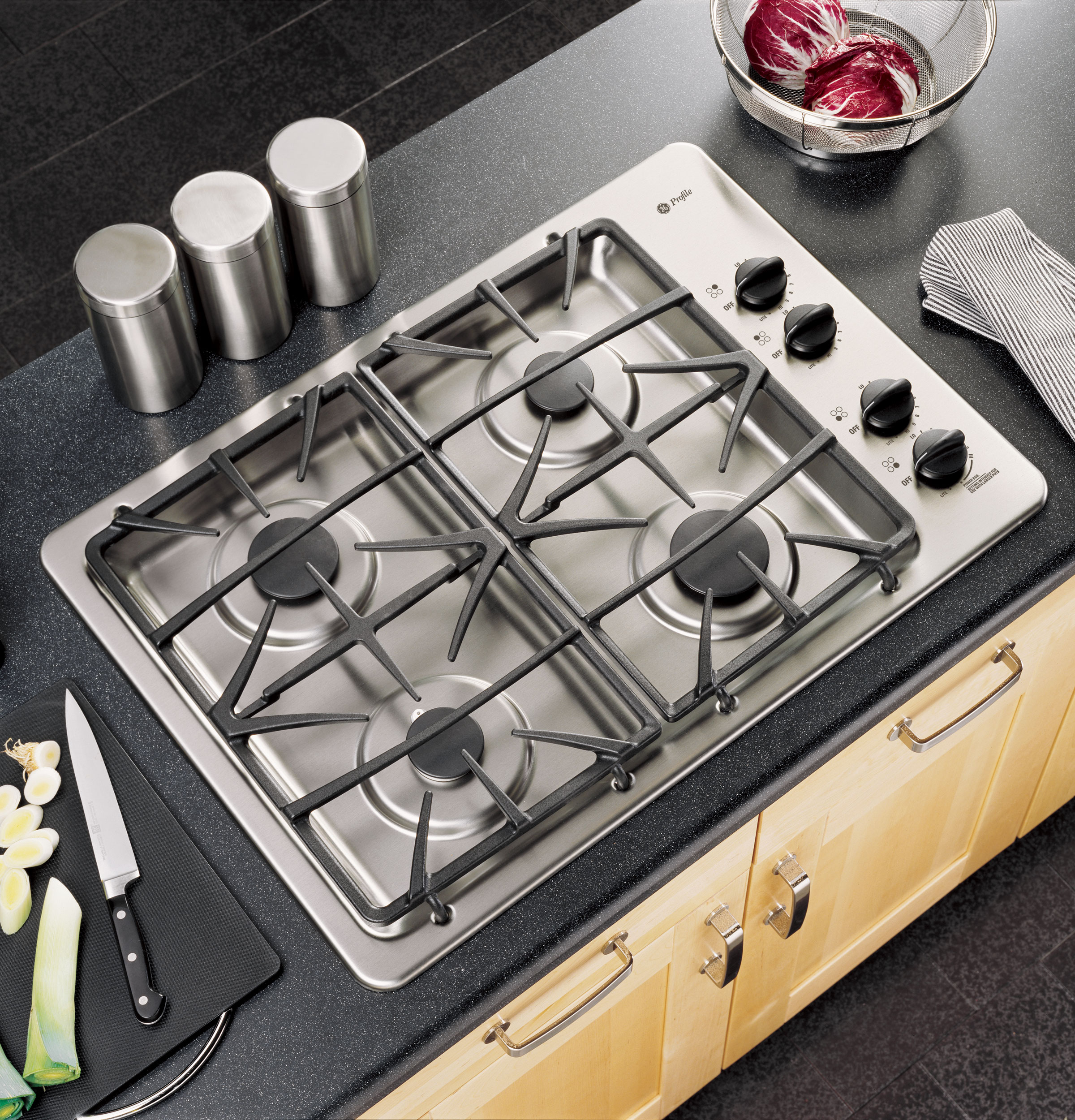 Built In Ge Cooktops ~ Ge profile™ quot built in gas cooktop jgp sekss