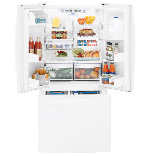 Ft French Door Refrigerator With Internal Water Dispenser Pfs22miwww Ge Liances