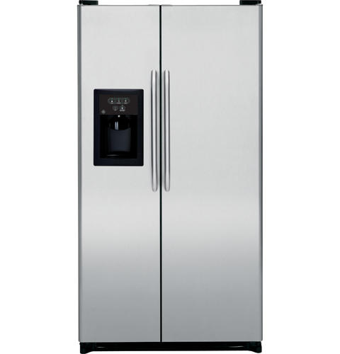 GE® 25.0 Cu. Ft. Stainless Side-By-Side Refrigerator with ... Ge Gsh Jsrfss Wiring Schematic on