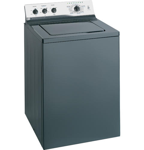GE® 3.5 Cu. Ft. King-Size Capacity Washer with Stainless Steel Basket
