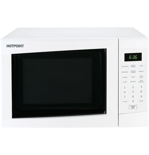 Countertop Microwave No Turntable : Hotpoint? Countertop Turntable Microwave Oven JES636WK GE ...