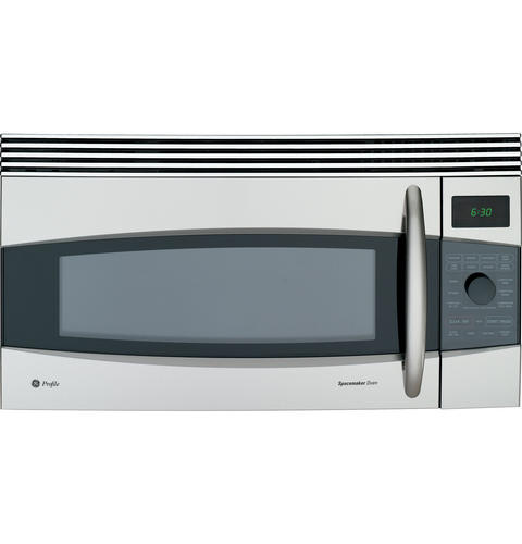 Ge Profile 1 7 Cu Ft Convection Over The Range Microwave Oven