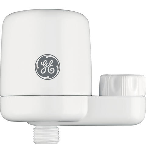 GE® GXSM01HWW Universal Shower Filtration System — Model #: GXSM01HWW