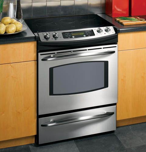 GE    Profile    30  SlideIn Electric Range   JS905SKSS      GE    Appliances
