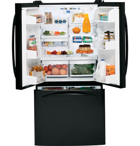 Ge Profile 22 2 Cu Ft French Door Refrigerator With