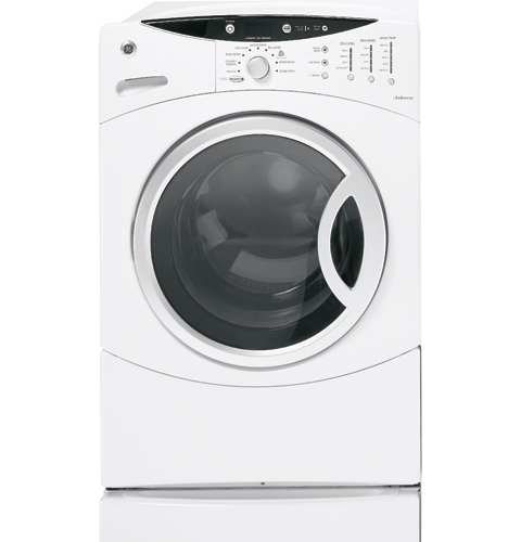 GE Adora™ ENERGY STAR® 3.7 IEC Cu. Ft. King-size Capacity Frontload Washer with Stainless Steel Basket