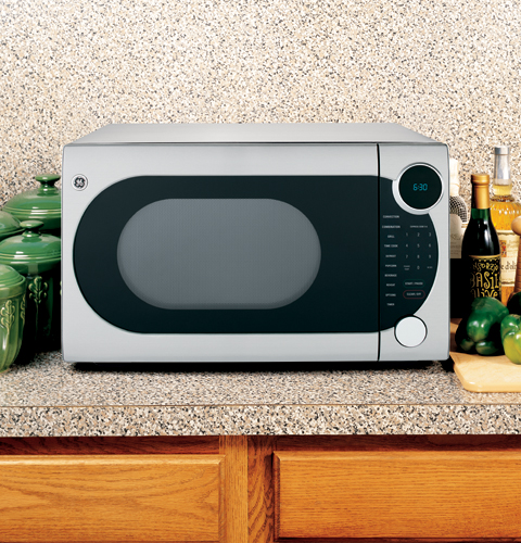 Countertop Microwave And Convection Oven In One : JES1290SK - GE? 1.2 Cu. Ft. Countertop Convection Microwave Oven ...