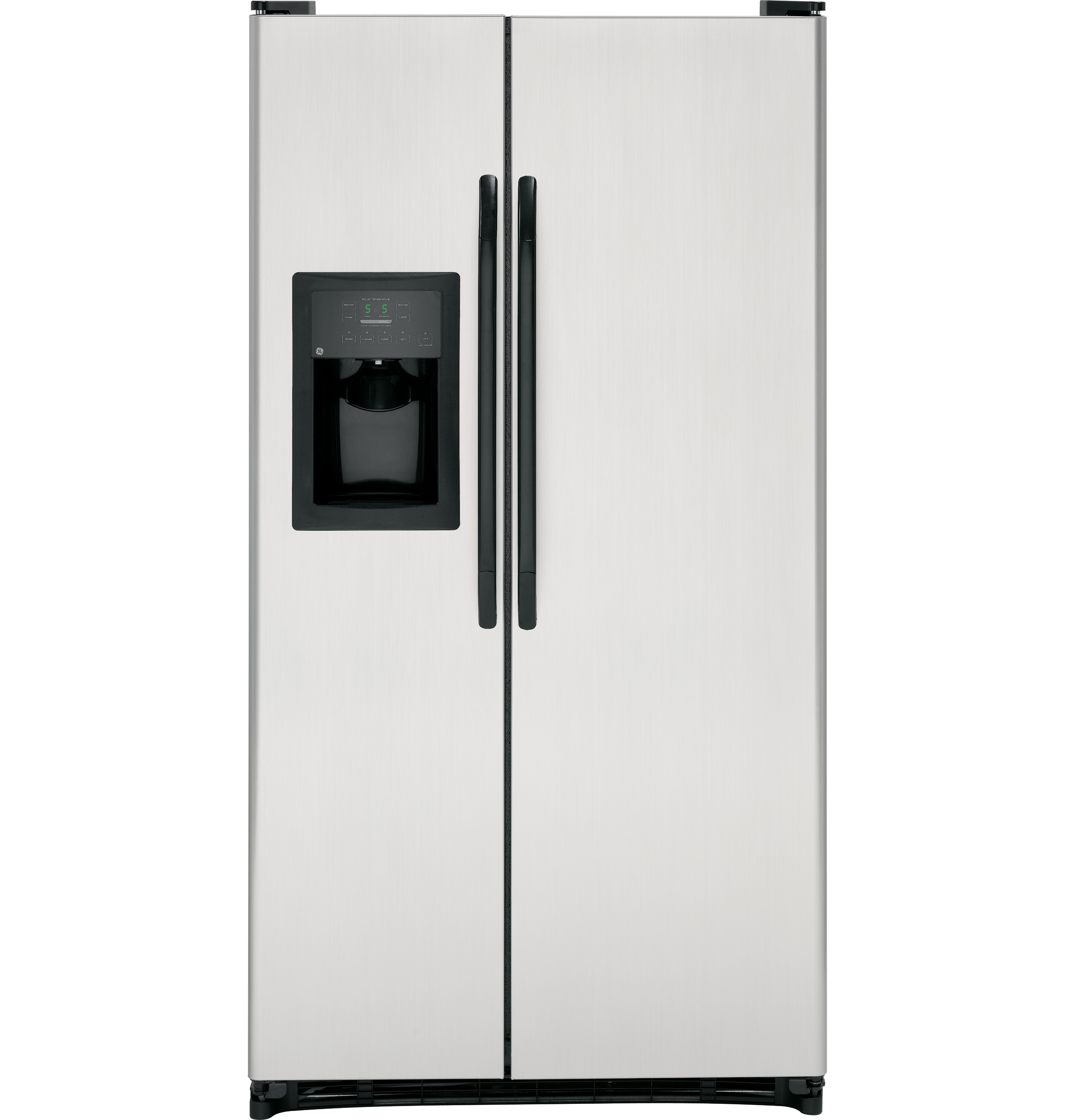Ge Energy Star 253 Cu Ft Side By Refrigerator With Relay Switch In Refrigerators Product Image