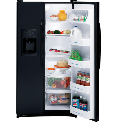 GE® 25.0 Cu. Ft. Side-By-Side Refrigerator with Dispenser