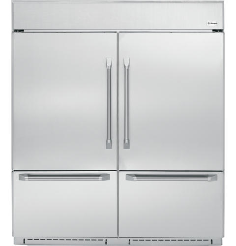 Zicp720sss Ge Monogram 72 Professional Built In Bottom Freezer Refrigerator Liances