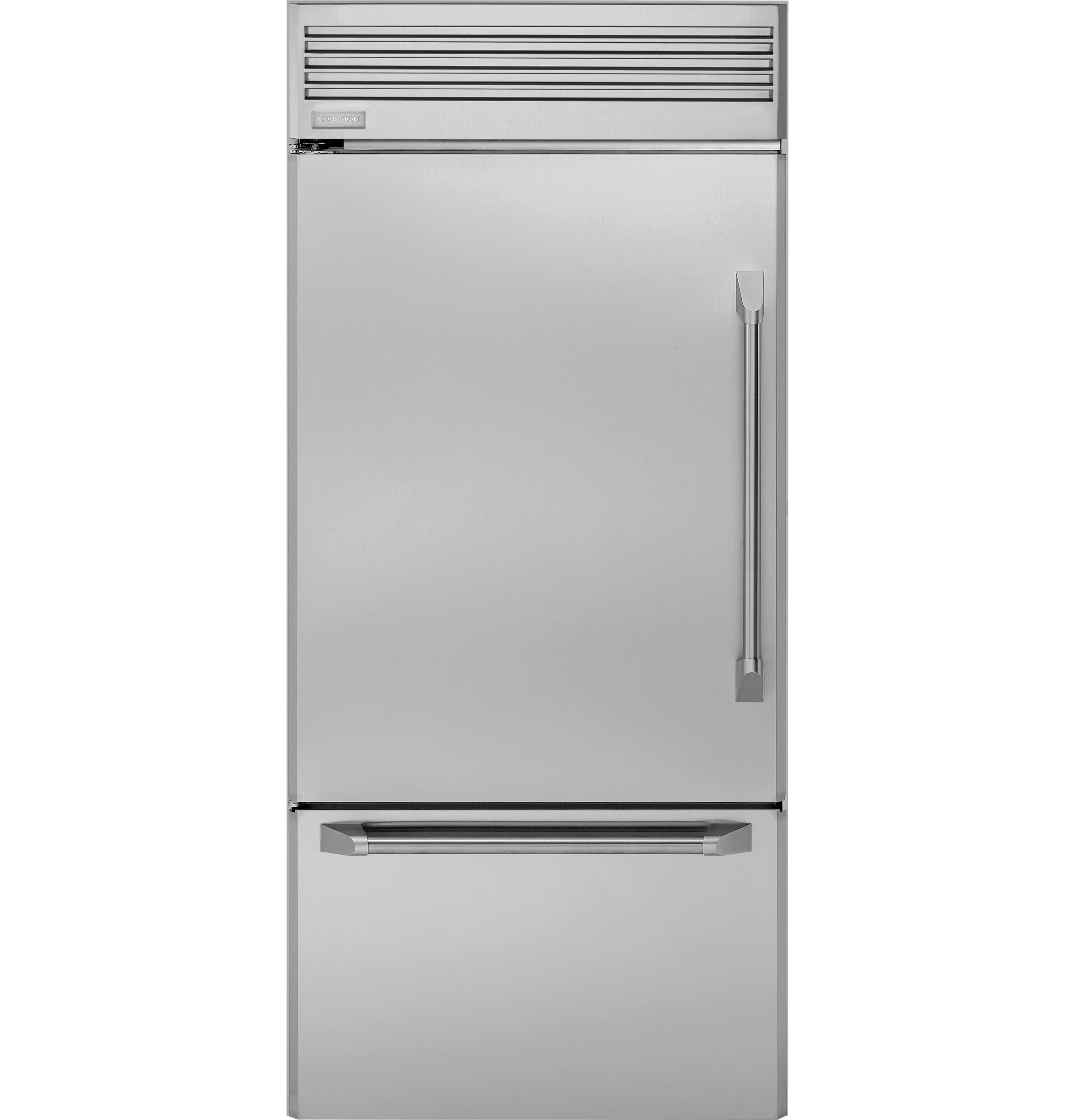 36 Refrigerators Monogram 36 Professional Built In Bottom Freezer Refrigerator