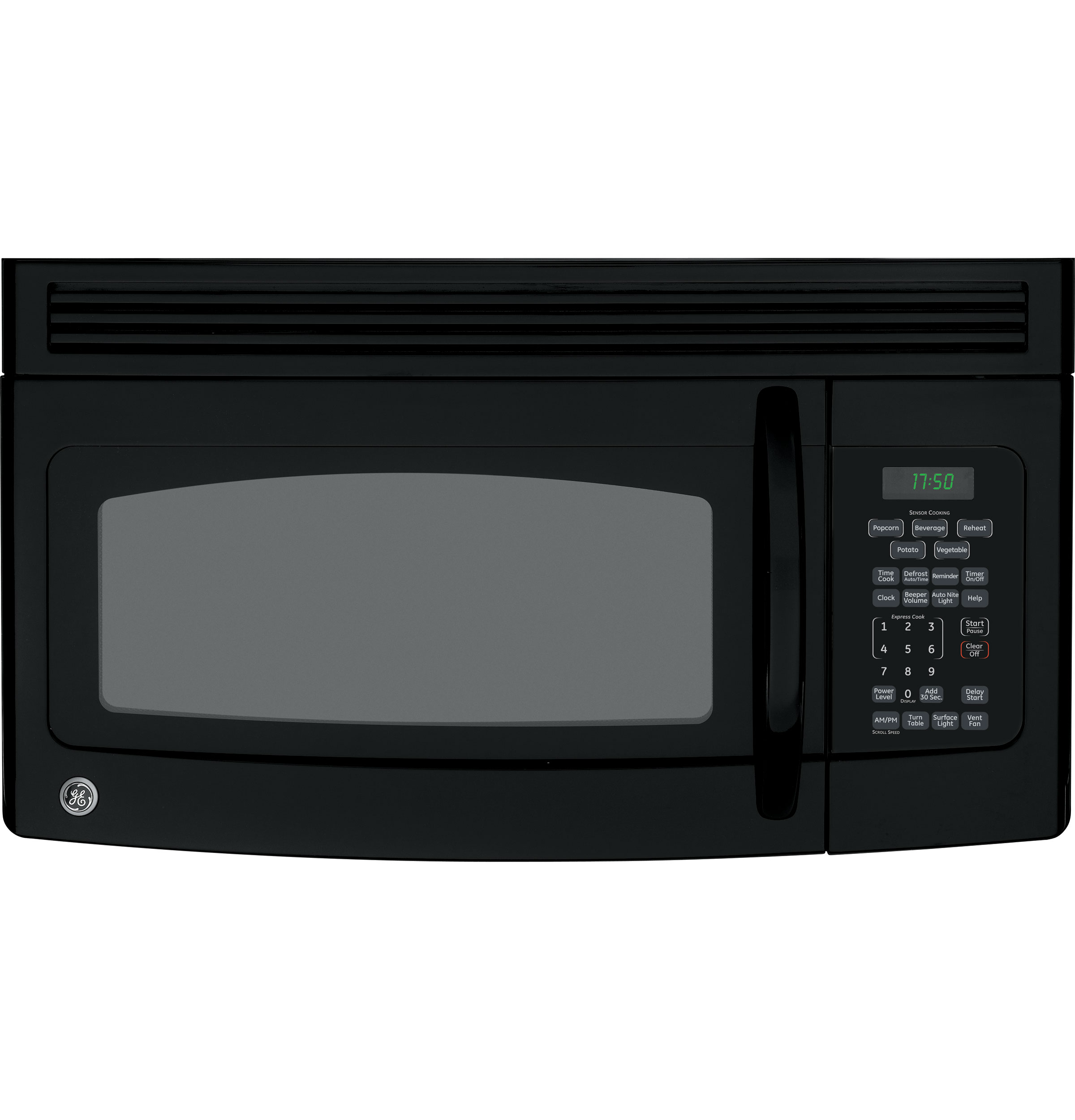 Ge Spacemaker 174 Over The Range Microwave Oven Jvm1750dmbb
