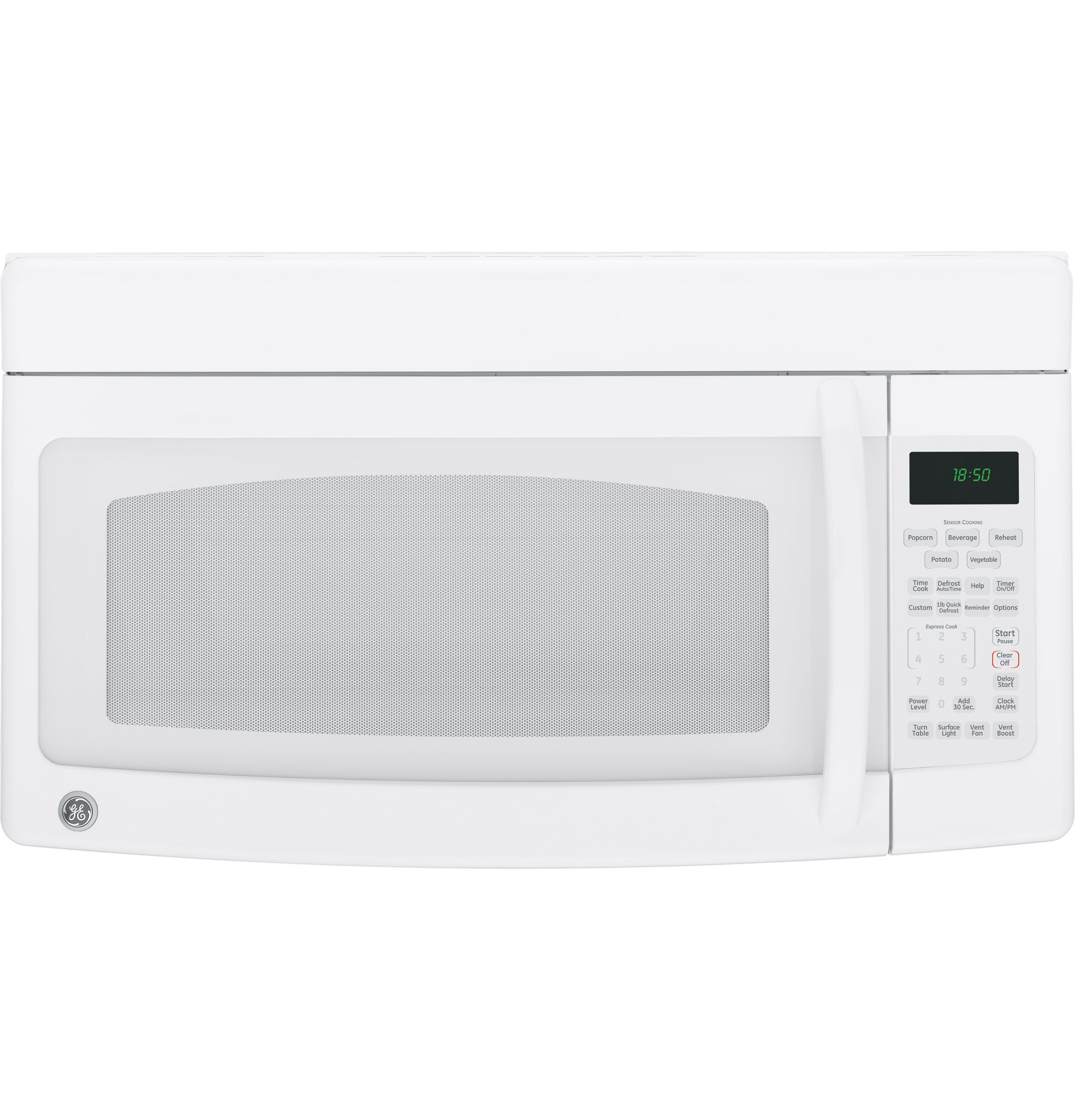 Ge Spacemaker 174 Over The Range Microwave Oven Jvm1850dmww