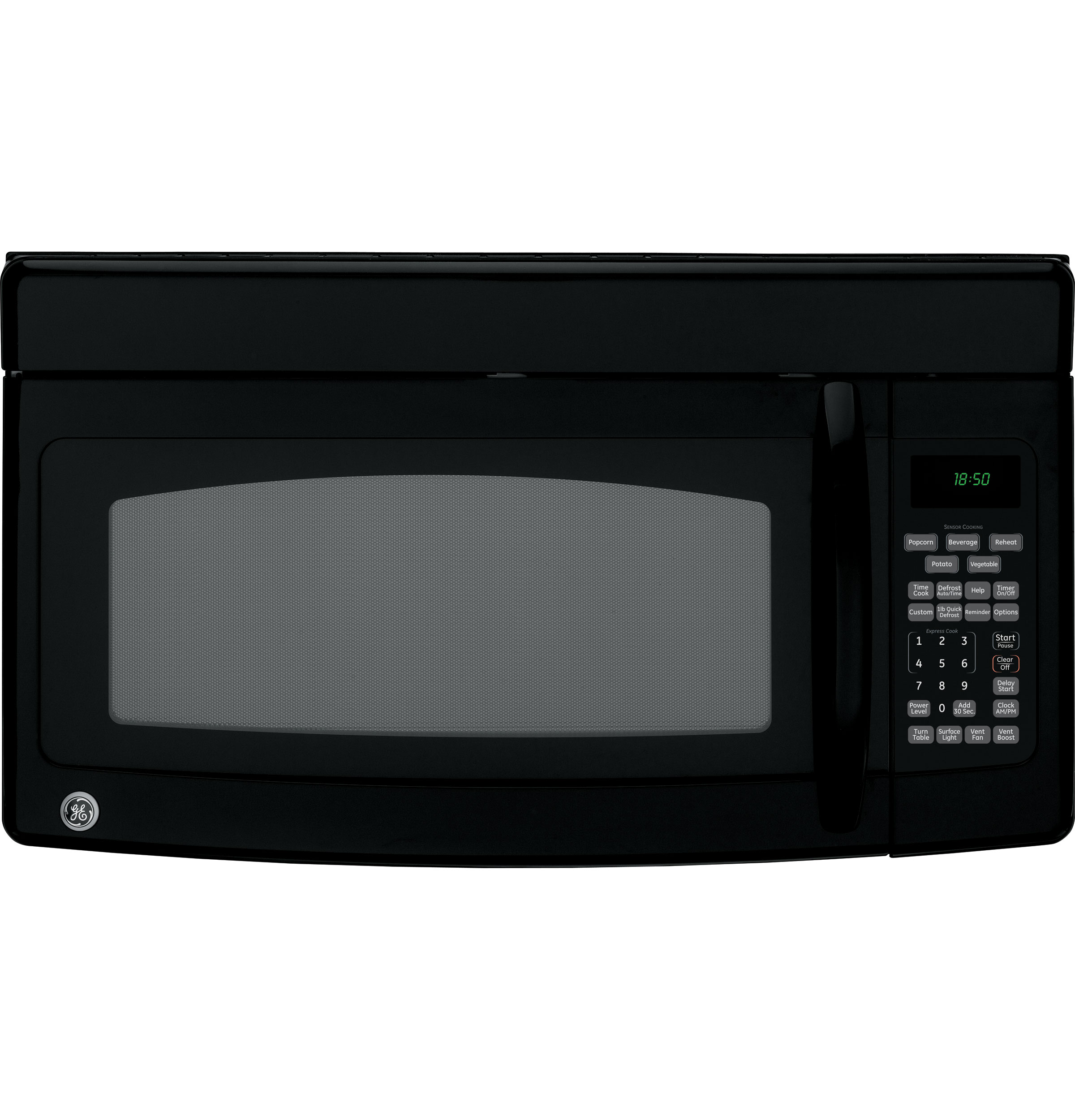 Ge Spacemaker 174 Over The Range Microwave Oven Jvm1850dmbb