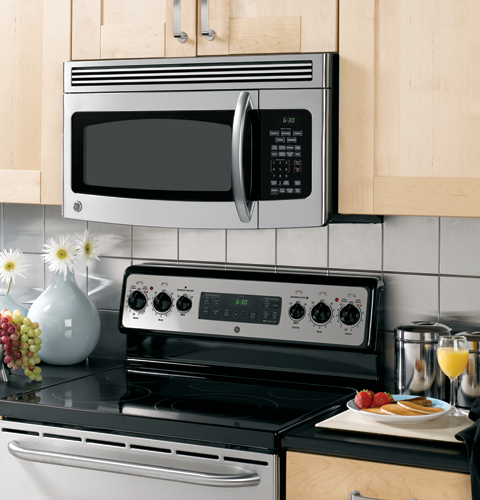 Ge Spacemaker 174 Over The Range Microwave Oven Jvm1750smss
