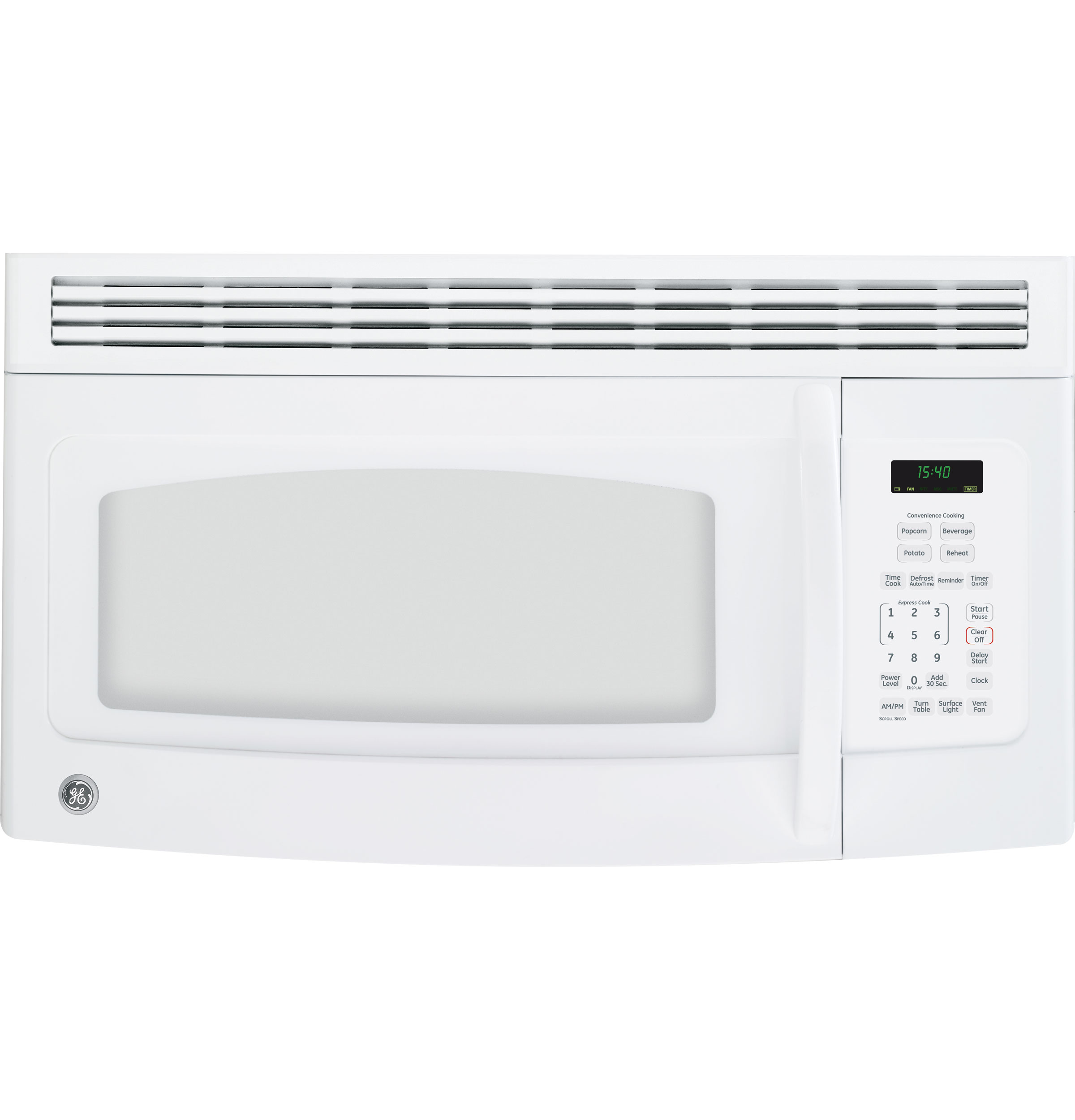 Ge spacemaker over the range microwave oven jvm1540dnww ge product image publicscrutiny Gallery