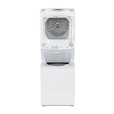 GE Unitized Spacemaker® 3.8 cu. ft. Capacity Washer with ... on